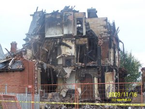 A Chatham, Ontario Funeral Home is Destroyed due to Fire