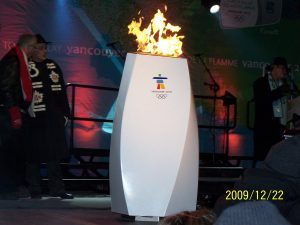 Olympic Flame Shines Chatham-Kent