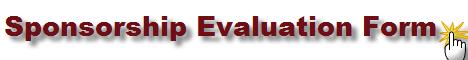 Sponsorship Evaluation Form