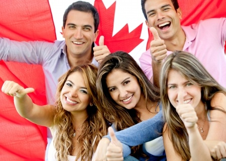 young canadians welcome you to their province