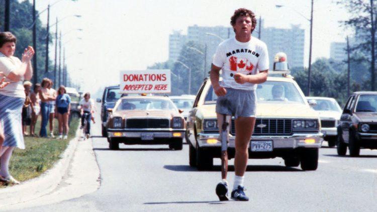 Terry Fox running to raise money